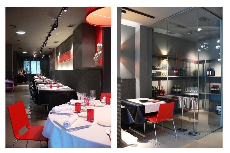 interior restaurante y bodega
